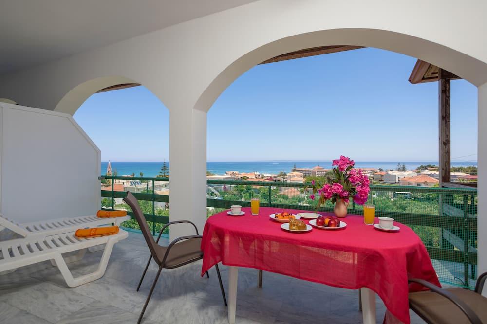 Habitación doble Deluxe, balcón, vista al mar - Balcón