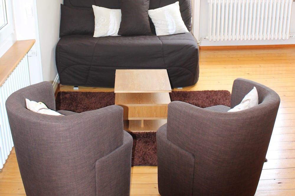 高級雙床房 - 客廳
