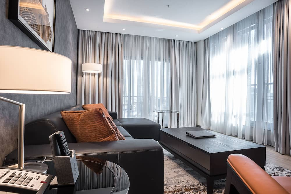 Suite, 1 Katil Raja (King), Non Smoking (Penthouse) - Bilik Rehat