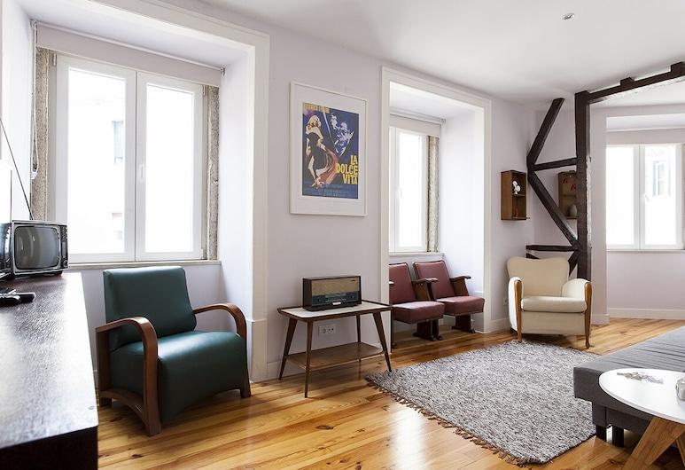ALTIDO Chiado Vintage, Lisabon, Obývačka