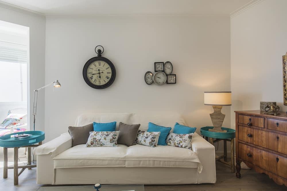 Apartemen, 2 kamar tidur, pemandangan samudra - Ruang Keluarga
