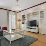 Apartament, 1 sypialnia, taras - Salon