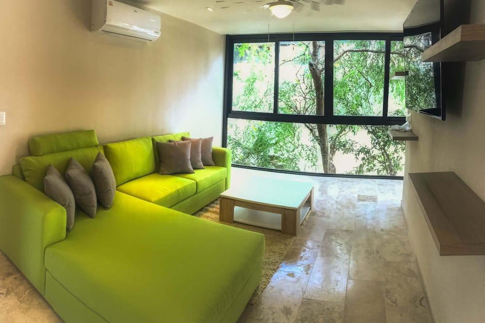 Premium-Dreibettzimmer - Wohnzimmer