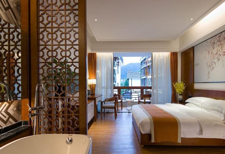 Four Seasons Themed Hotel, Zhangjiajie, Deluxe tweepersoonskamer, Kamer