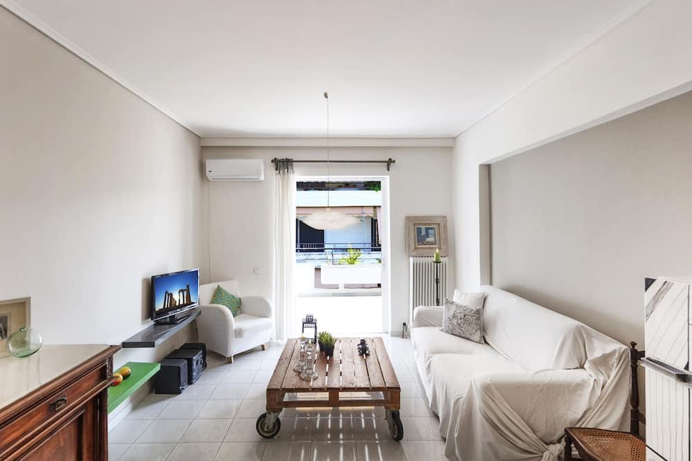 Comfort Apartment, 2 Bedrooms, Balcony, City View - Bilik Rehat