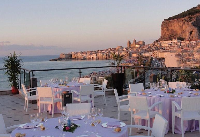 Cefalù Sea Palace, Cefalù, Outdoor Dining
