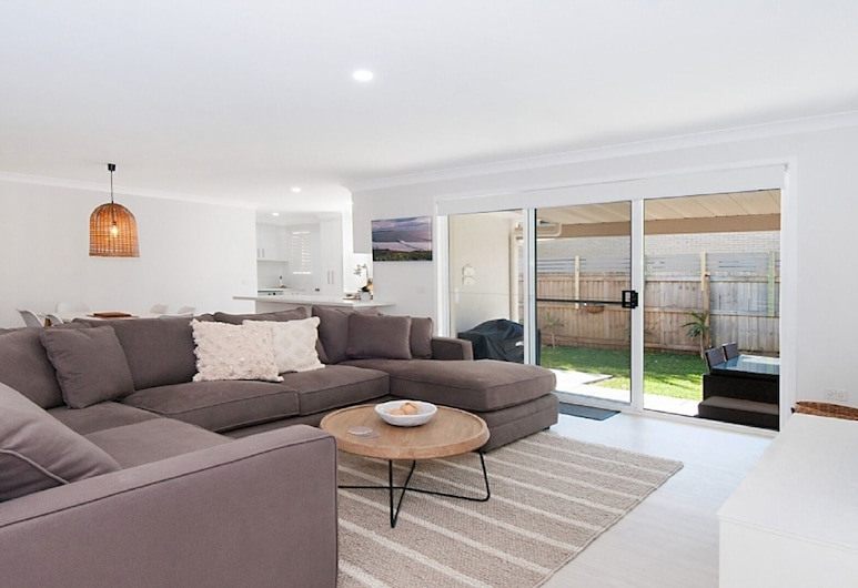 Kays Hideaway, Lennox Head, Dúplex, 2 habitaciones, Zona de estar