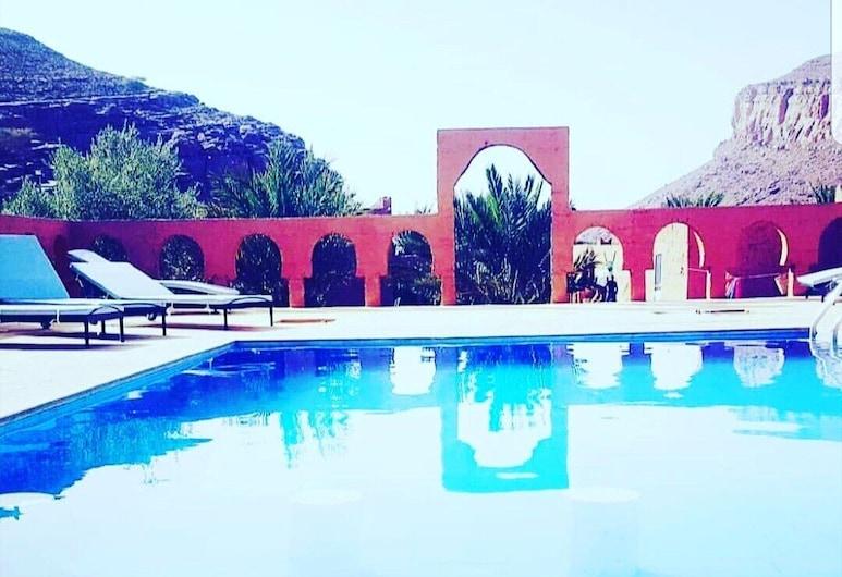 Auberge Camping Oasis El Mharech, Rissani, Piscina all'aperto