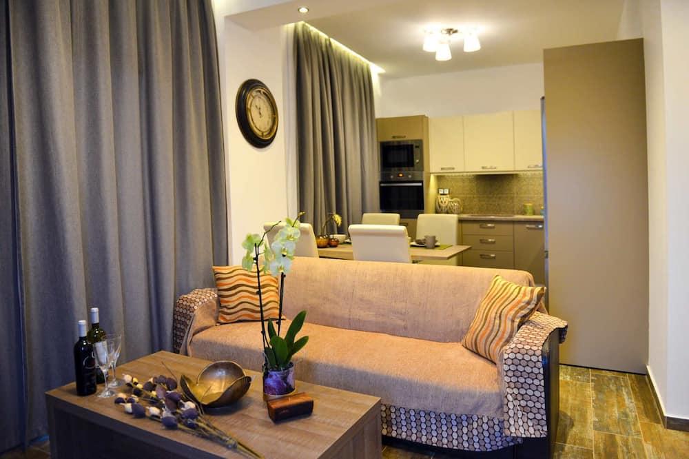 Villa, 2 Bedrooms, Sea View - Living Area