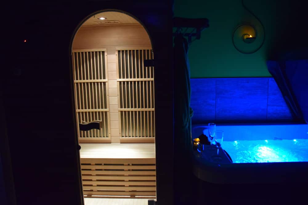 Loft, sauna (Cocoon) - Bañera de hidromasaje privada