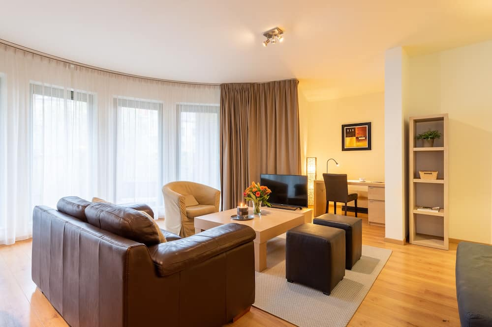 Business Apartment - Living Room