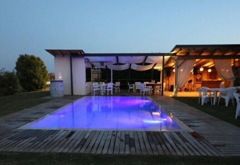 Osteria e Locanda del Viaggiatore, Russi, Εξωτερική πισίνα