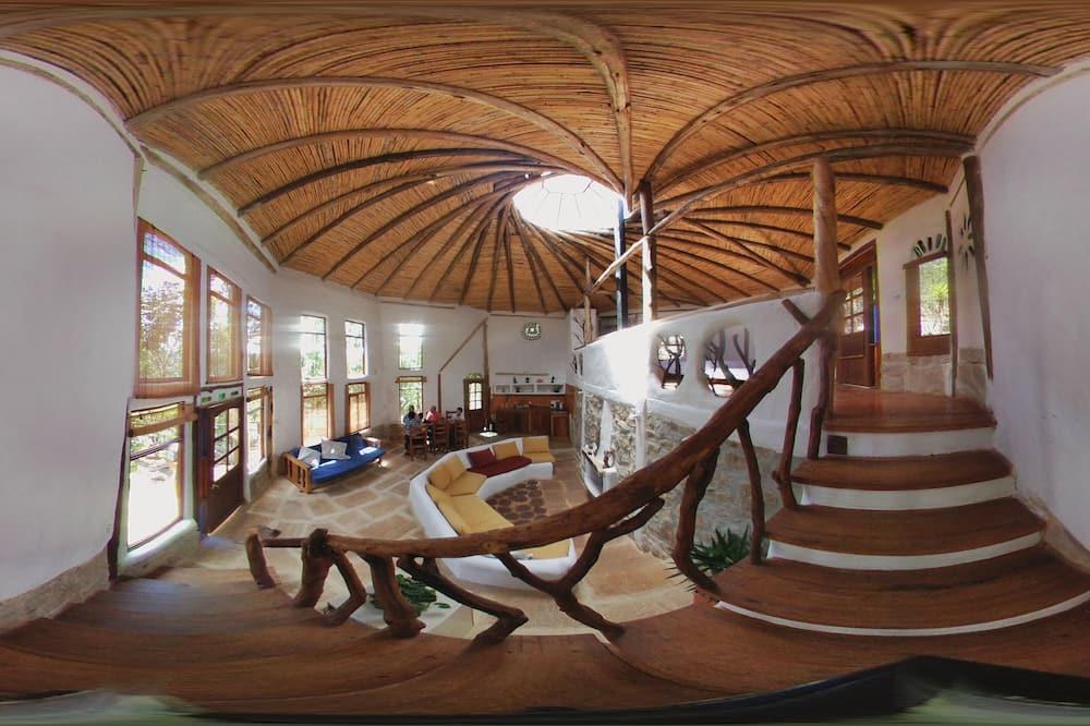 Habitación cuádruple de diseño - Sala de estar