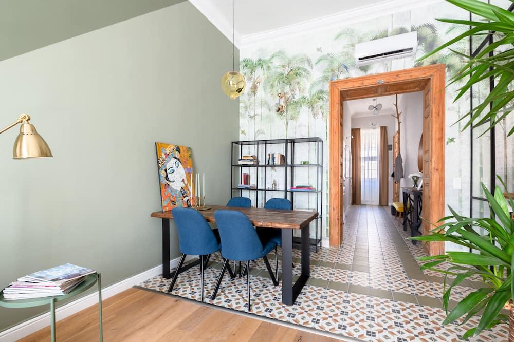 Paaugstināta komforta dzīvokļnumurs - Numura ēdamzona