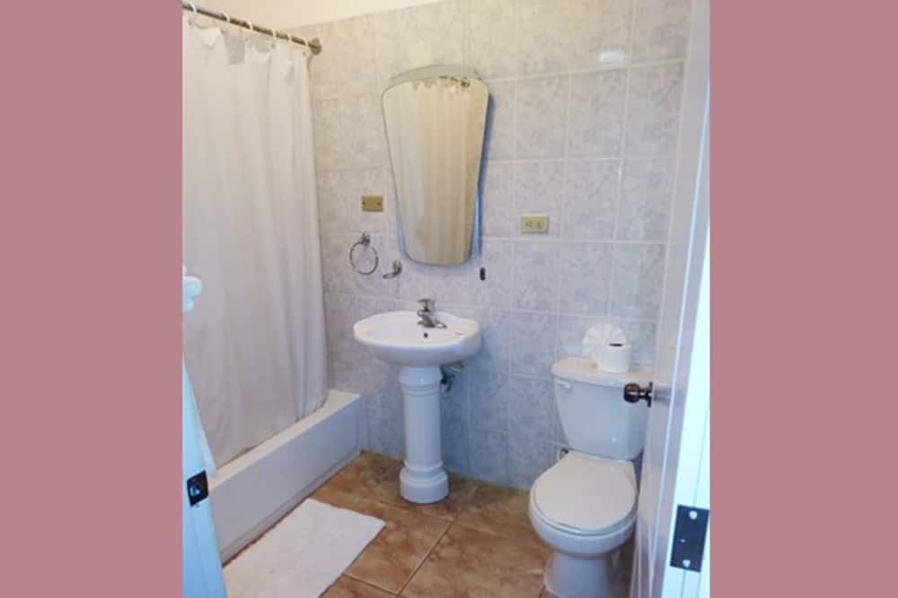 Dobbeltværelse - 2 queensize-senge - Badeværelse