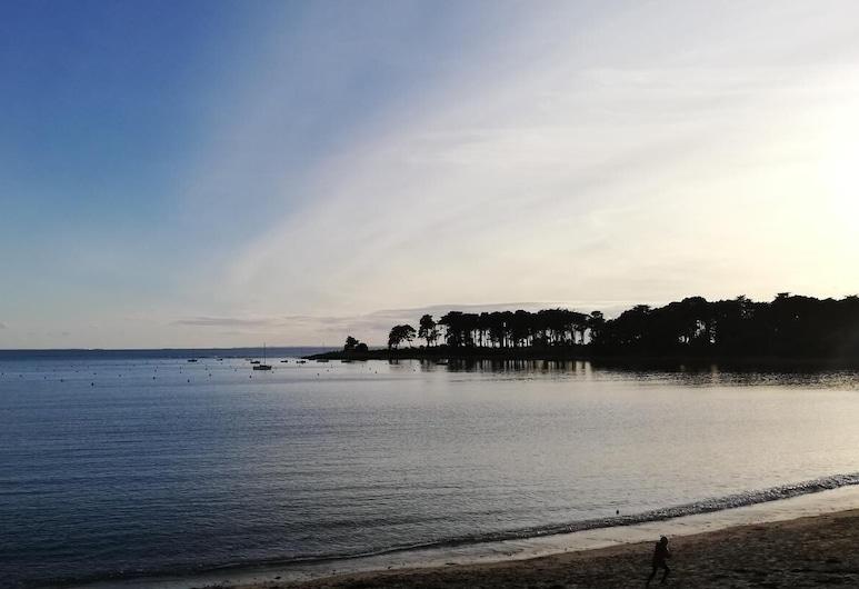 Vue mer et plage à pied, Porto-Vecchio, Paplūdimys