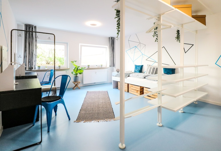 Private hostel room - City Center 1C, Mannheim