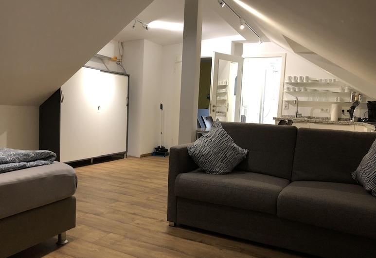 Apartment Köln Ensen, Colonia, Estudio familiar (incl. EUR 25 Cleaning fee), Sala de estar