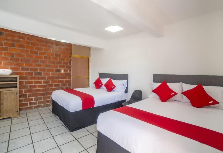 Hotel Posada Laura, San Juan del Rio, Phòng Tiêu chuẩn, 2 giường cỡ queen, Phòng