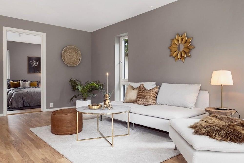อพาร์ทเมนท์, 3 ห้องนอน (Towel, linen & cleaning excluded) - ห้องนั่งเล่น
