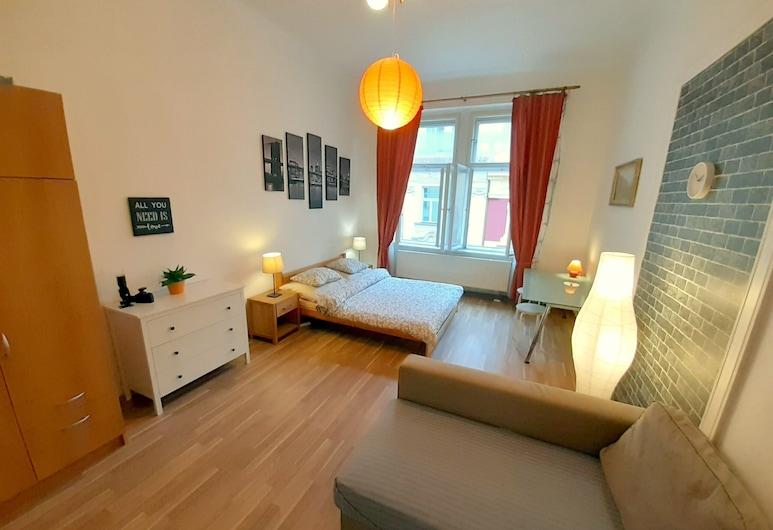 Central and calm, Prag, Doppelzimmer (1), Zimmer