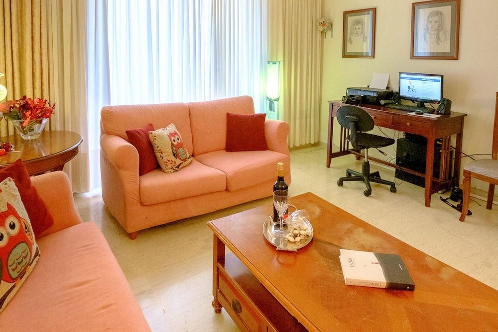 Apartmán, 3 spálne, výhľad na mesto - Obývacie priestory