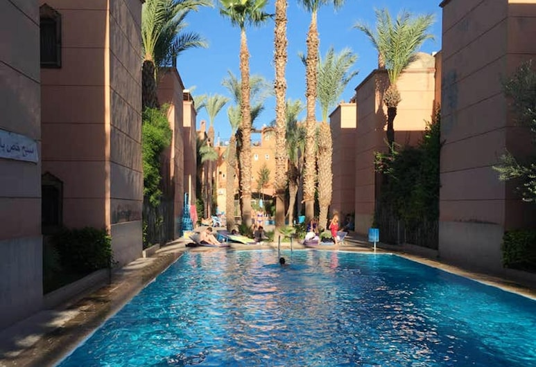 Property With 3 Bedrooms in Annakhil, Marrakech, With Wonderful City View, Shared Pool, Furnished Terrace - 80 km From the Slopes, Marrakech