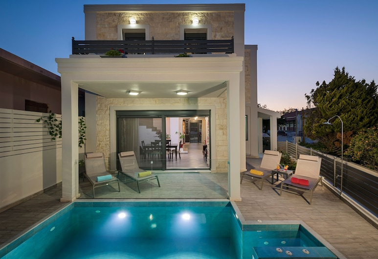Beautiful Pool Villa for Relaxing Family Holidays, Chania, Outdoor Pool