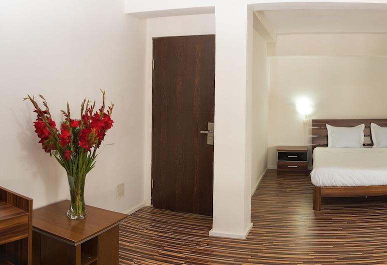 Hotel Le Pousse Pousse, Antananarivo, Habitación Deluxe, Vista de la habitación