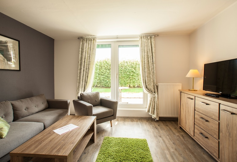 Hotel Frieslandstern, Wangerland, Ferienwohnung Typ A/B, Sala de estar