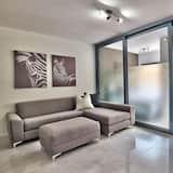 Căn hộ tiện nghi đơn giản, 1 phòng ngủ - Khu phòng khách