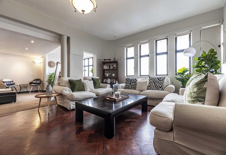 504 Knightsbridge Mansions, Le Cap, Appartement, Coin séjour