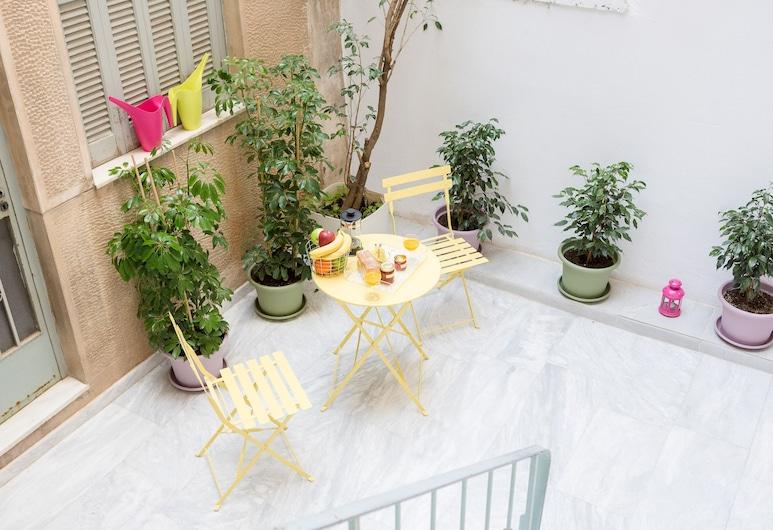 그랜드마스 - 아테네에 위치한 시크하고 밝은 주택, 테라스 보유, 아테네, 아파트, 침실 1개, 발코니