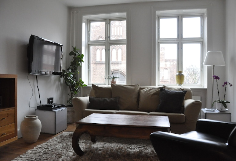1 bedroom apt Close to Tivoli 484-1, Copenhagen, Apartment, Living Room