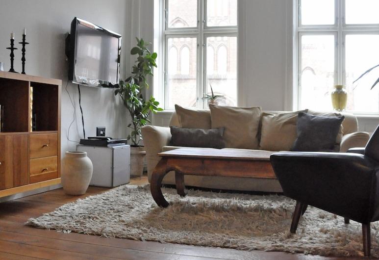 1 bedroom apt Close to Tivoli 484-1, Copenhagen, Căn hộ, Khu phòng khách