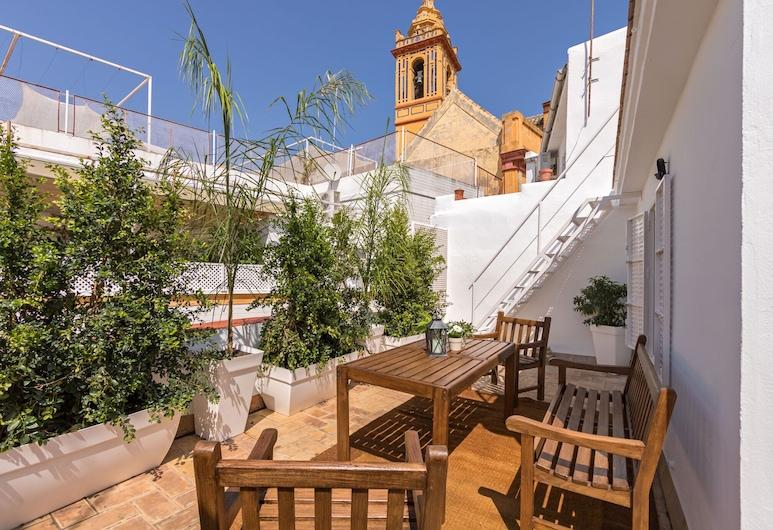 Apartamento GiraldaView Cathedral Duplex, Seville, Apartment, 1 Bedroom, Terrace, Terrace/Patio