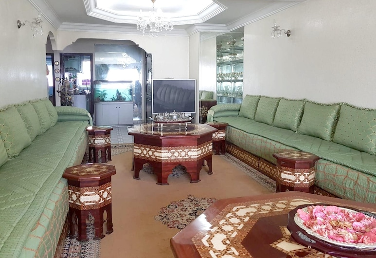 Apartment With 2 Bedrooms in Casablanca, With Wonderful sea View and Wifi, Casablanca