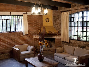 Tequisquiapan bölgesindeki Cabañas Quinta Patricia resmi