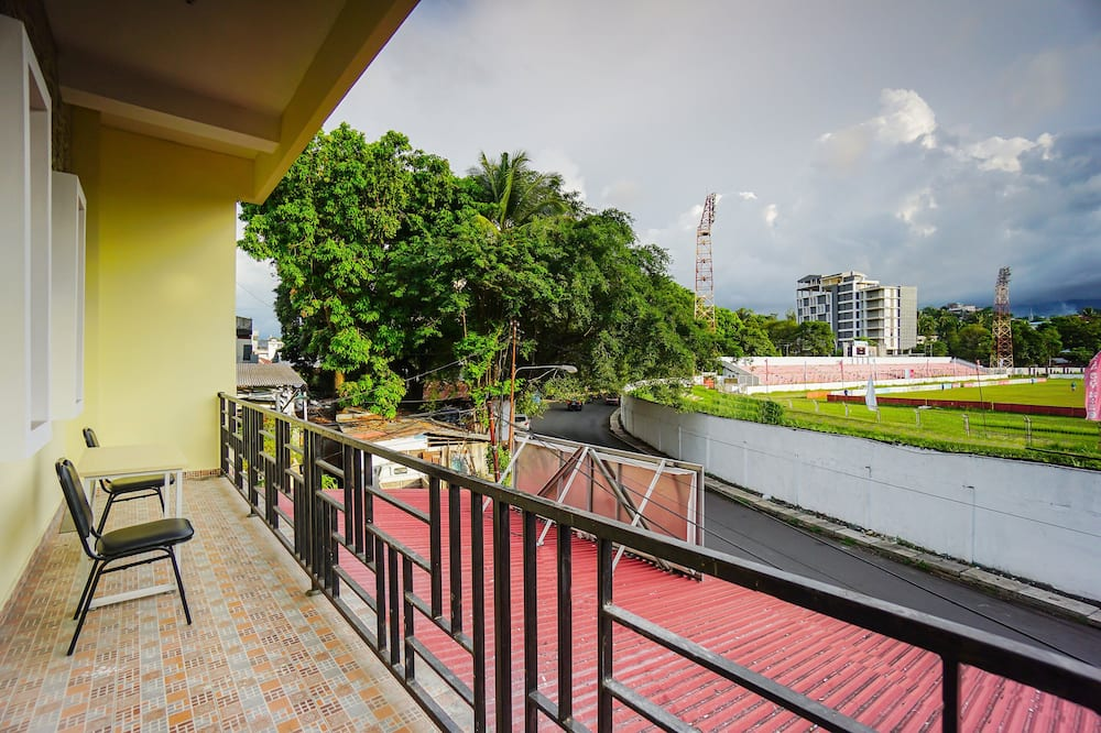 Vaizdas iš balkono