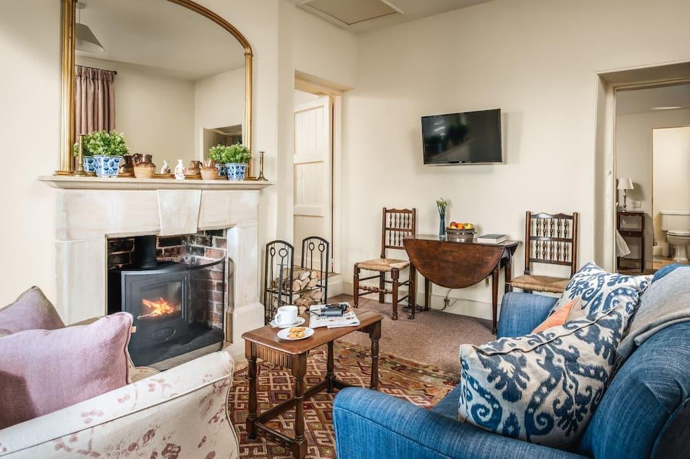 كوخ - غرفة معيشة