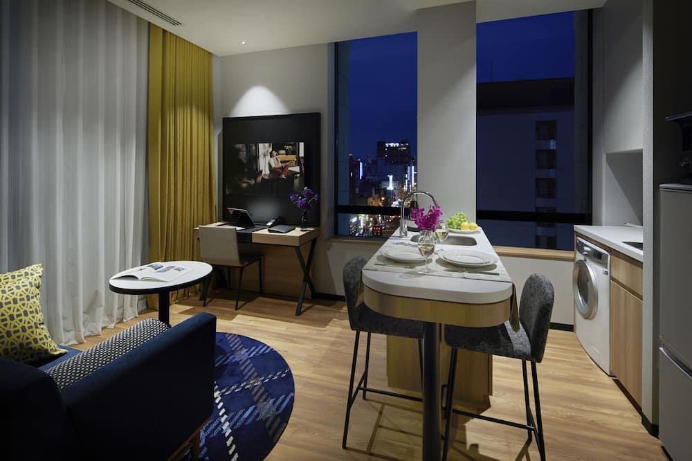 Suite Junior, 1 chambre (Double) - Salle de séjour