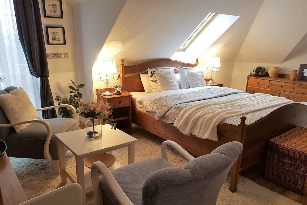Habitación doble superior - Sala de estar