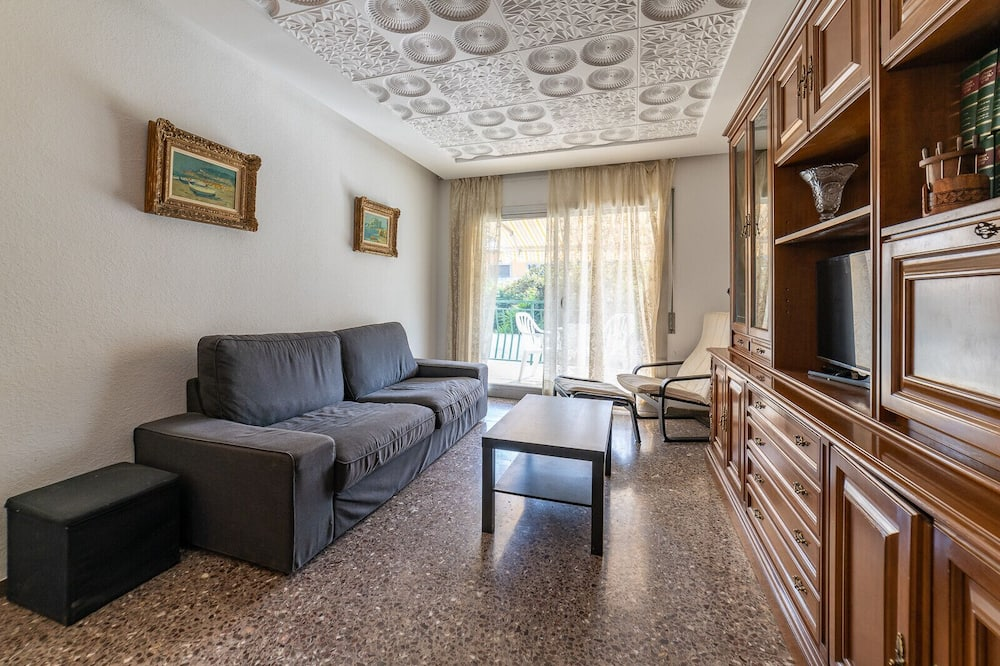 Apartment, 4Schlafzimmer, Terrasse - Wohnzimmer