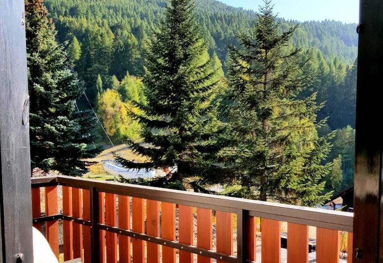 Le Petit Nid, Sauze d'Oulx, Apartment, 2 Bedrooms, Mountain View, Balcony