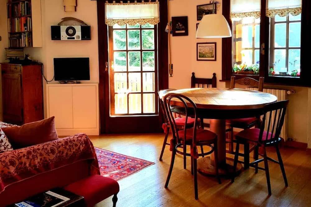Appartement, 2 chambres, vue montagne - Coin séjour