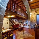 Tradiční domek, v mezaninu - Obývací prostor