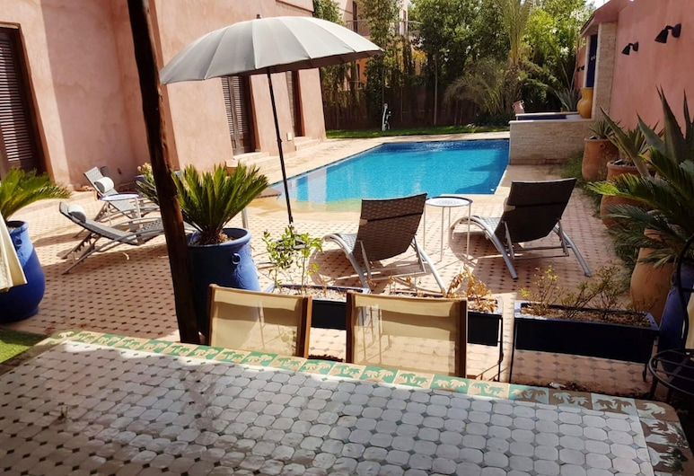 Villa With 4 Bedrooms in Marrakech, With Private Pool, Enclosed Garden and Wifi, Saâda, Бассейн