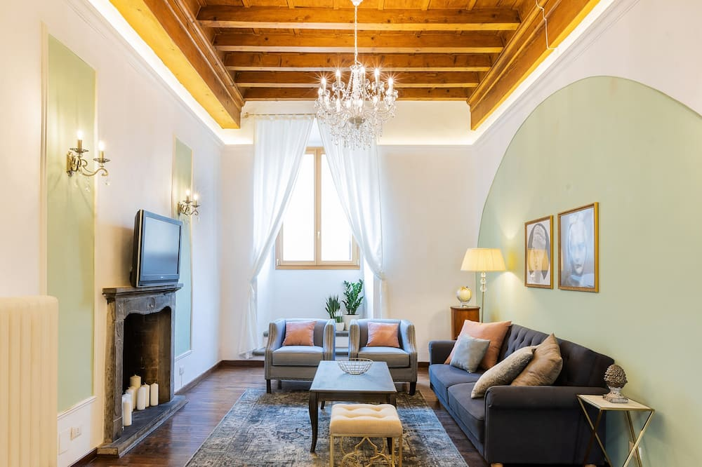 Apartmán, 4 spálne - Obývacie priestory