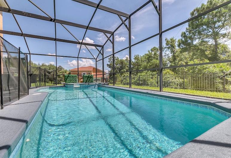 Themed Luxury Villa - 3m to Disney-Private pool, Kissimmee, Sundlaug