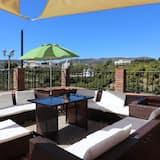 Villa, 4 soverom, privat basseng, utsikt mot fjell - Terrasse/veranda